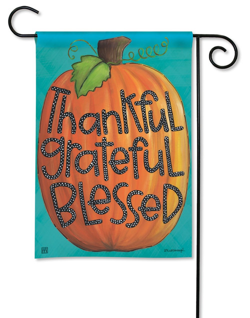 "Grateful Garden Flag - 12.5"" x 18"" - BreezeArt"