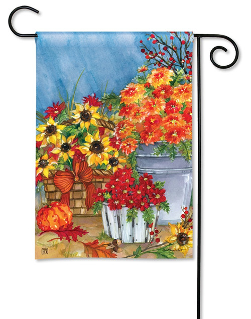 BreezeArt Outdoor Garden Flag Mum's the Word
