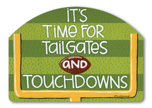 "Touchdown Yard DeSign Yard Sign - 14"" x 10"""