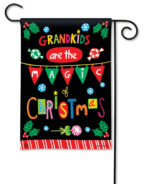 "Magic of Christmas Garden Flag - 12.5"" x 18"" - BreezeArt"