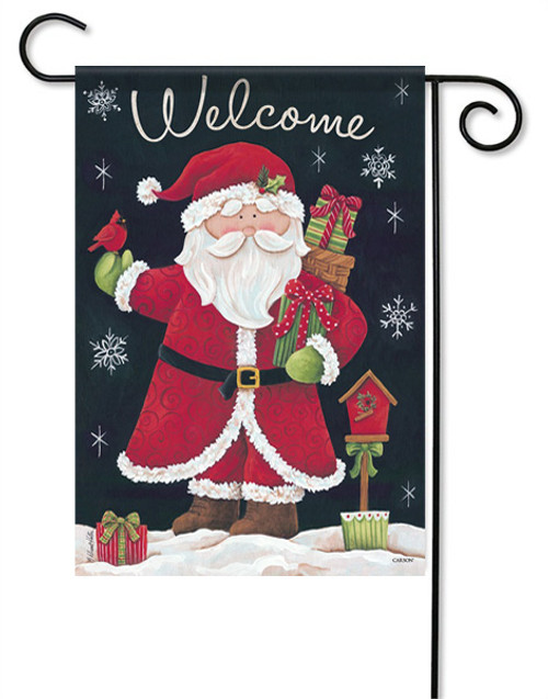 "Gifts From Santa Garden Flag - 13 "" x 18"" - 2 Sided Message"