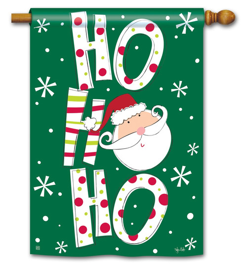 "Santa Says Christmas House Flag - 28"" x 40"" BreezeArt"