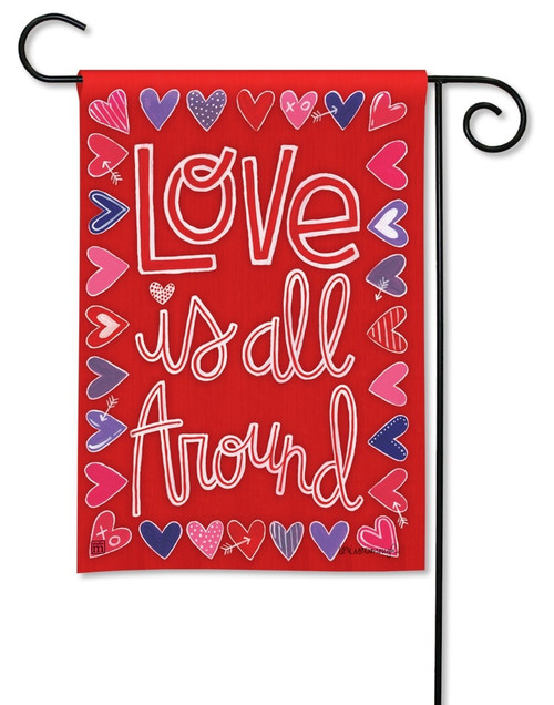 "Mix It Up Valentine Garden Flag - 12.5"" x 18"" - BreezeArt"