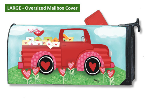 Special Delivery LARGE Magnetic Mailbox Cover