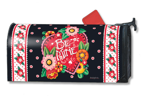 Valentine Be Mine Magnetic Mailbox Cover