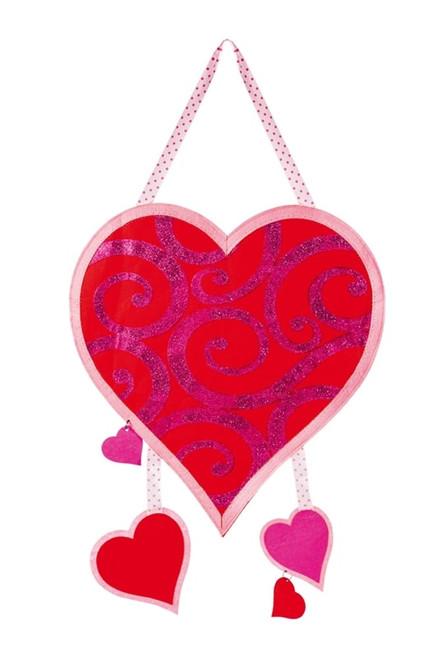 Valentine Be Mine Felt Door Decor