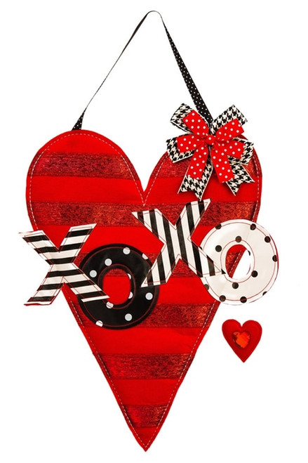 Valentine's Heart Felt Door Decor