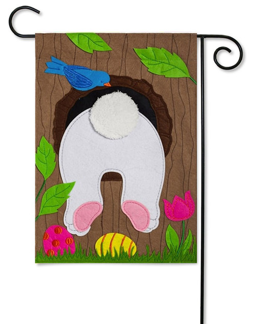 "Stuck in a Tree Easter Garden Felt Flag - 12.5"" x 18"""