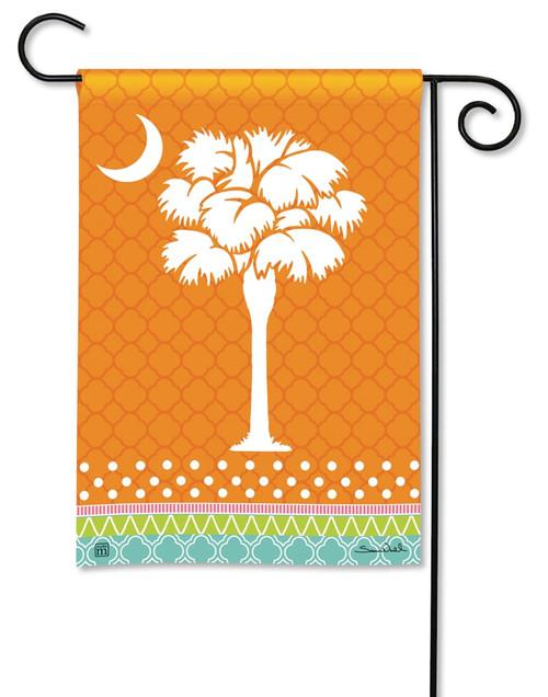 "Preppy Palmetto Summer Garden Flag - 12.5"" x 18"" - BreezeArt"