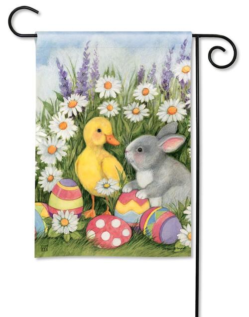 "Easter Babies Easter Garden Flag - 12.5"" x 18"" - BreezeArt"