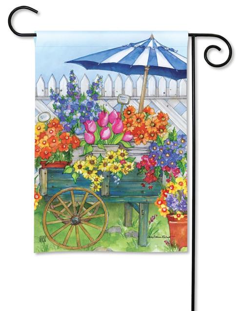 "Fresh Picked Summer Garden Flag - 12.5"" x 18"" - BreezeArt"