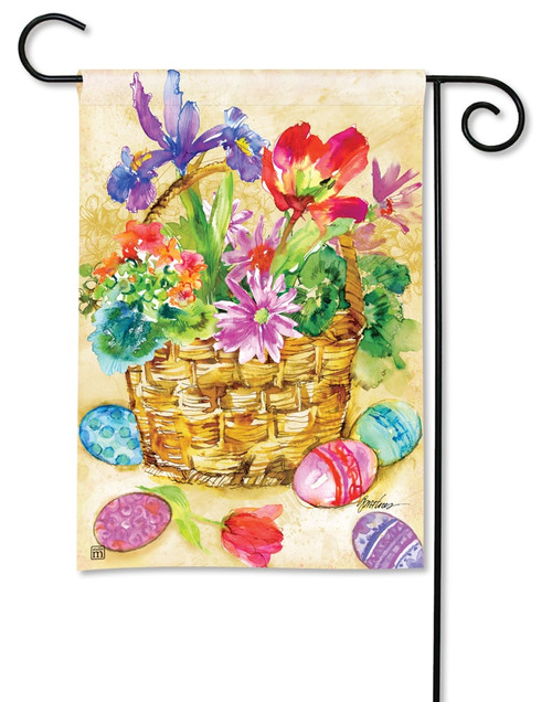 "Easter Beauty Easter Garden Flag - 12.5"" x 18"" - BreezeArt"