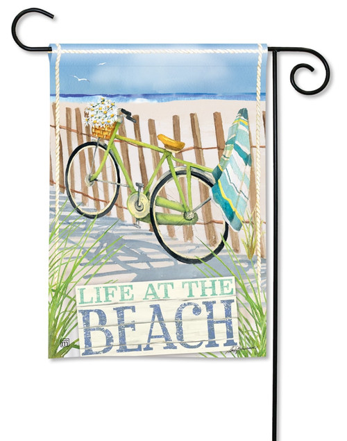 "Beach Trail Summer Garden Flag - 12.5"" x 18"" - BreezeArt"