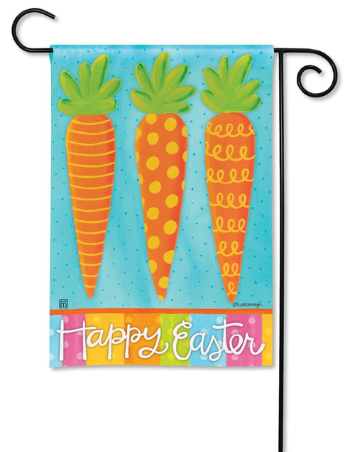 Bunny Delight Easter Decorative Garden Flag BreezeArt