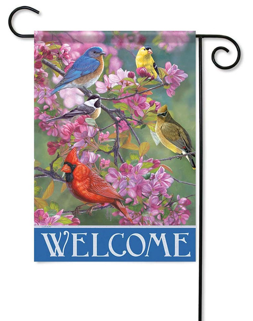 "Winged Gathering Garden Flag - 12.5"" x 18"" - Flag Trends"