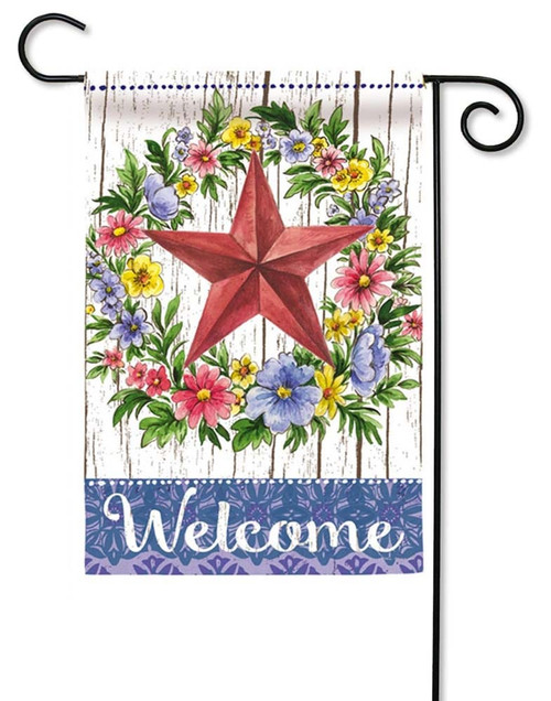 Summer Country Star Decorative Garden Flag
