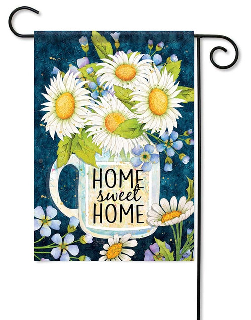 Home Sweet Home Jar Garden Flag