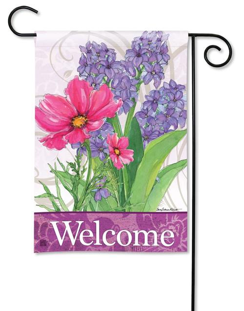 """Garden Bouquet Summer Garden Flag - 12.5"""" x 18"""" - BreezeArt"""