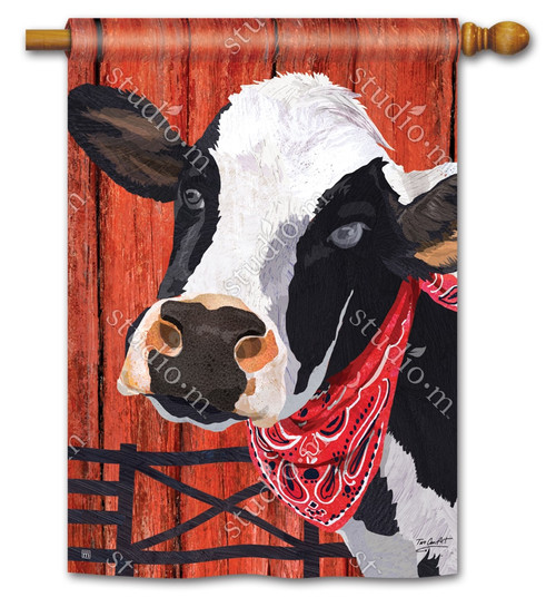"Down on the Farm Summer House Flag - 28"" x 40"" - BreezeArt"