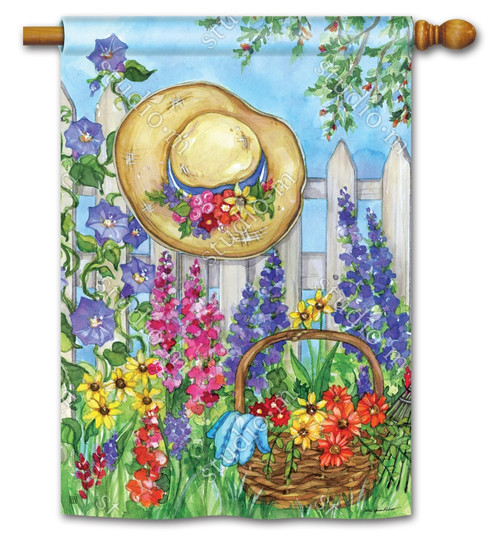 "Springtime Beauty Decorative House Flag - 28"" x 40"" - BreezeArt"