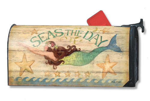 Mermaid Magnetic Mailbox Cover