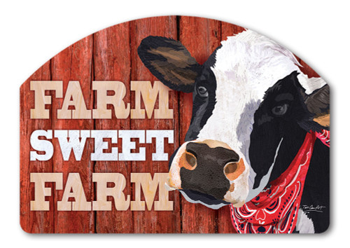 "Down on the Farm Yard DeSign Yard Sign - 14"" x 10"""