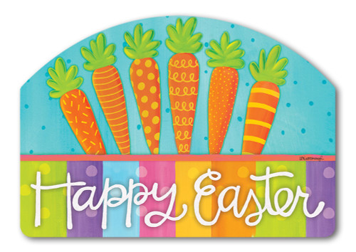 "Bunny Delight Yard DeSign Yard Sign - 14"" x 10"""