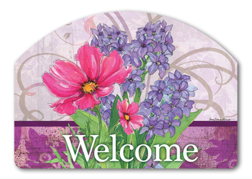 "Garden Bouquet Yard DeSign Yard Sign - 14"" x 10"""