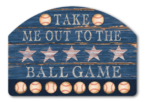 "Baseball Season Yard DeSign Yard Sign - 14"" x 10"""