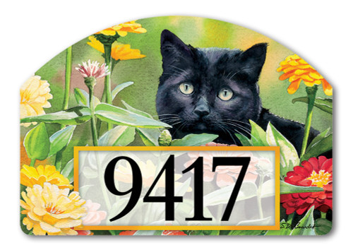 "Sweet Fragrance Yard DeSign Address Sign - 14"" x 10"""