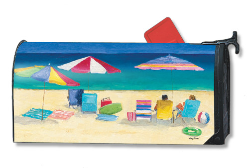 Love the Beach Magnetic Mailbox Cover