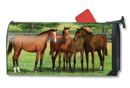 Grazing Time Magnetic Mailbox Cover