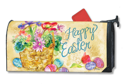 Easter Beauty Magnetic Mailbox Cover