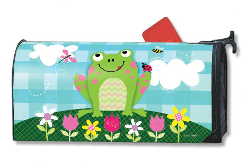 Happy Frog Magnetic Mailbox Cover
