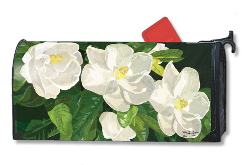 Sweet Magnolias Magnetic Mailbox Cover