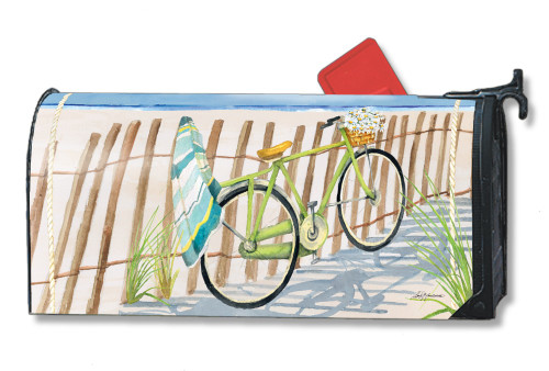 Beach Trail Magnetic Mailbox Cover