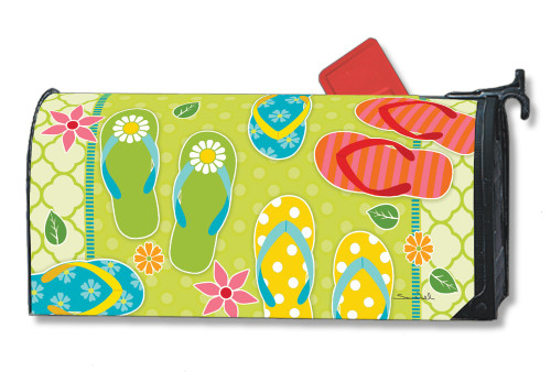 Hello Summer Magnetic Mailbox Cover