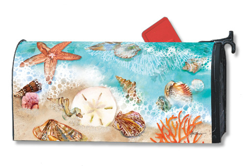 Seashore Treasures Magnetic Mailbox Cover