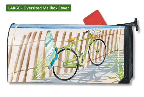 Beach Trail LARGE Magnetic Mailbox Cover