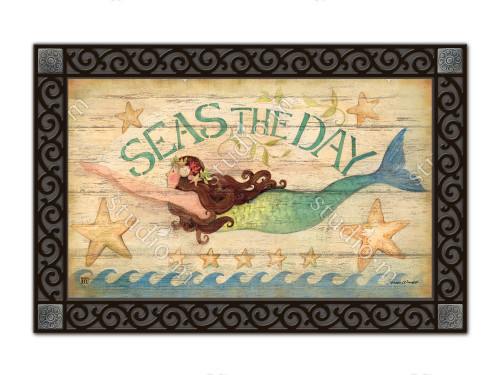 "Mermaid MatMates Doormat - 18"" x 30"""