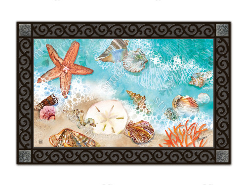 "Seashore Treasures MatMates Doormat - 18"" x 30"""