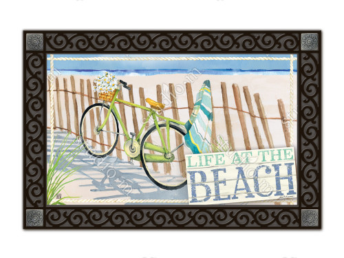 "Beach Trail MatMates Doormat - 18"" x 30"""