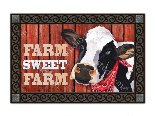 "Down on the Farm MatMates Doormat - 18"" x 30"""