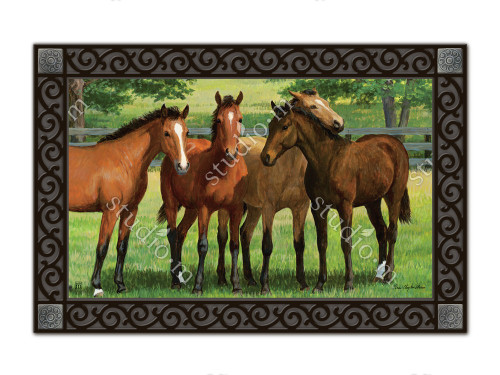 "Grazing Time MatMates Doormat - 18"" x 30"""