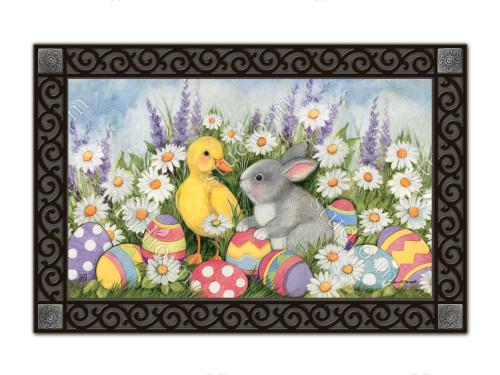 """Easter Babies MatMates Doormat - 18"""" x 30"""""""