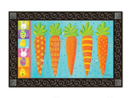 "Bunny Delight MatMates Doormat - 18"" x 30"""