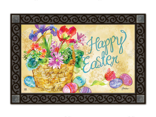 "Easter Beauty MatMates Doormat - 18"" x 30"""