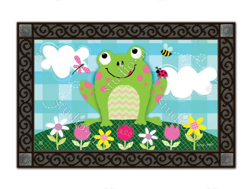 "Happy Frog MatMates Doormat - 18"" x 30"""