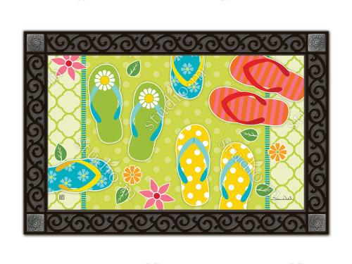 """Hello Summer MatMates Doormat - 18"""" x 30"""""""