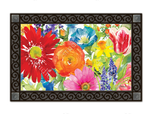 "Splash of Color MatMates Doormat - 18"" x 30"""